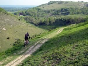 Devil's Dyke south trail