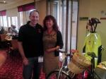Sylvie - hard core cyclist