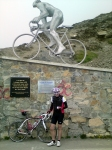 Freezing on the Col du Tourmalet
