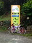 Historic route marker