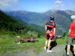 Looking across to the Aubisque that we were going to climb from the other side