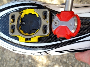 Pedal and shoe plate