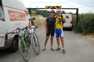 Jon & Simon in good spirits at Shoreham