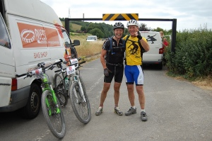 Jon & Simon in good spirits at Shoreham
