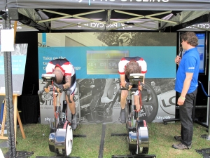 Watt bike challenge