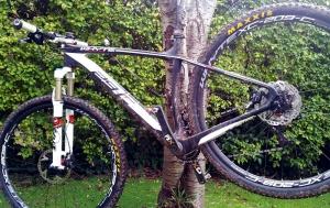Virtually clean bike in December!!