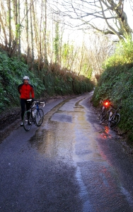 Puncture stop - not a bit of mud anywhere