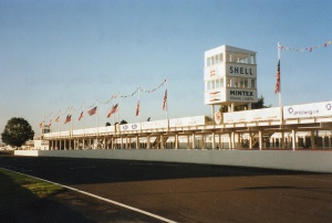 Iconic Goodwood race circuit
