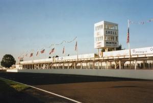 Iconic Goodwood race circuit