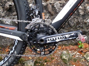 Rotor 3D crank and Q-Rings 40/25