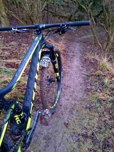 Scott Spark made for singletrack