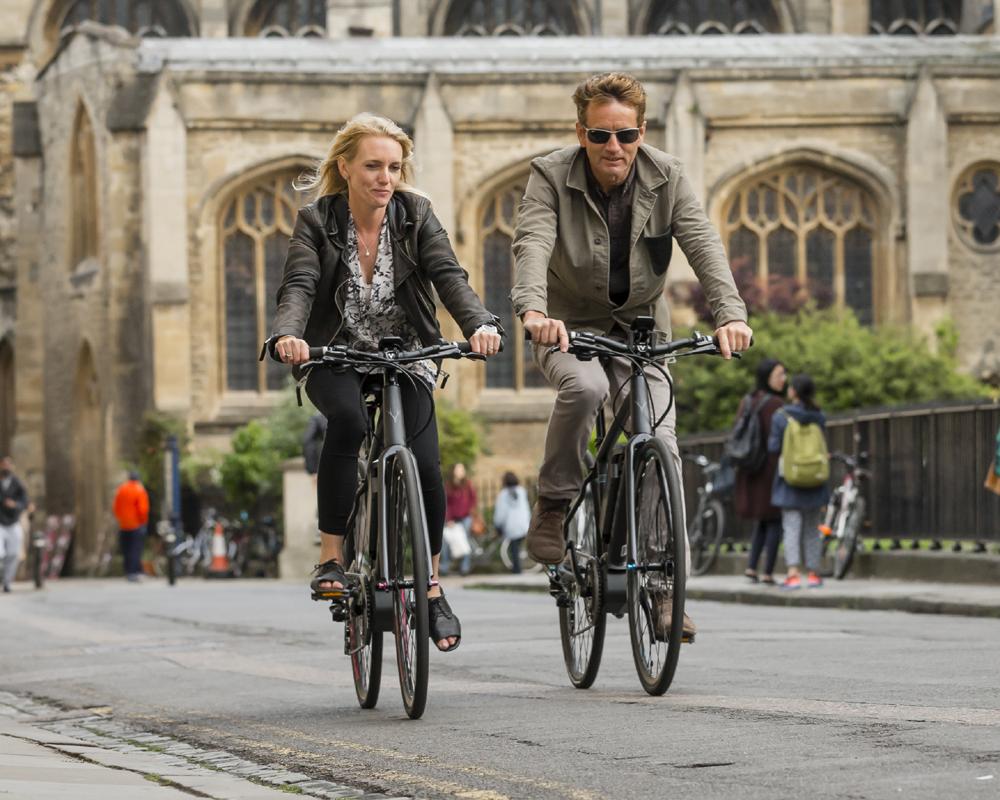 Easy travelling on E-bikes