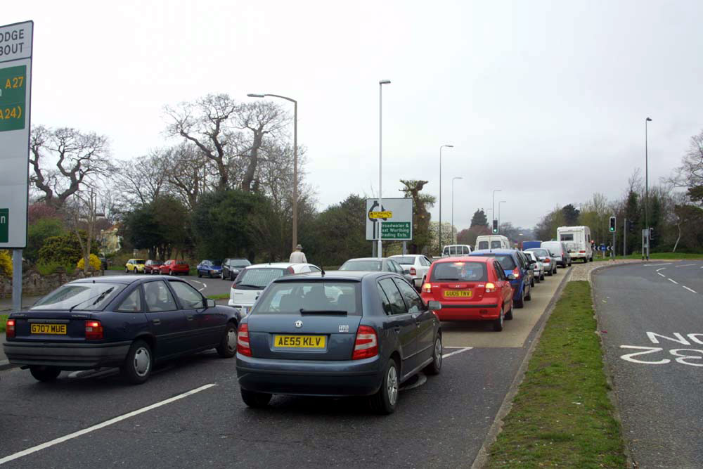 Grove Lodge roundabout